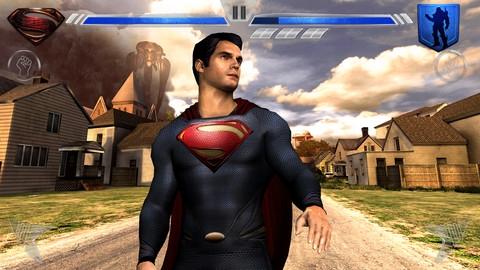 Superman Man Of Steel iPhone oyunu App Store'da yerini aldı