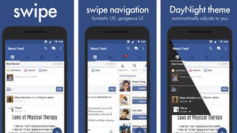 Swipe for Facebook