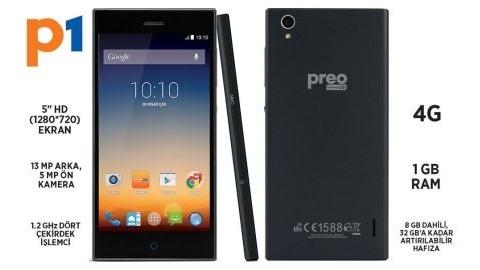 Teknosa, Preo P1 adlı ilk akıllı telefonunu resmen satışa sundu