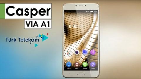 Türk Telekom Casper Via A1 Akıllı Telefon Kampanyası