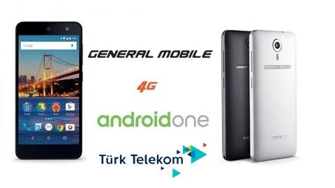 Türk Telekom General Mobile 4G Android One Cihaz Kampanyası
