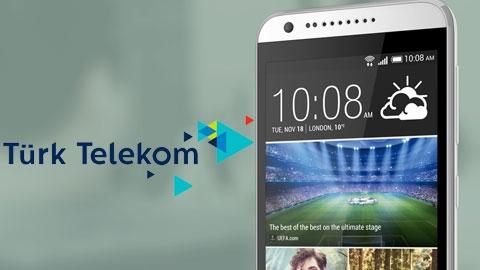 Türk Telekom HTC Desire 620G Cihaz Kampanyası