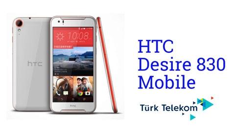 Türk Telekom HTC Desire 830 Cihaz Kampanyası