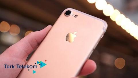 Türk Telekom iPhone 7 128GB Cihaz Kampanyası