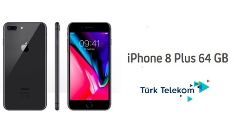 Türk Telekom iPhone 8 Plus 64GB Cihaz Kampanyası