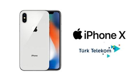 Türk Telekom iPhone X 64GB Cihaz Kampanyası