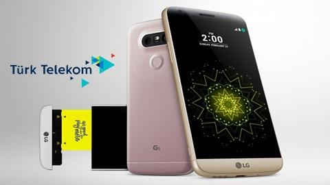 Türk Telekom LG G5 SE Cihaz Kampanyası