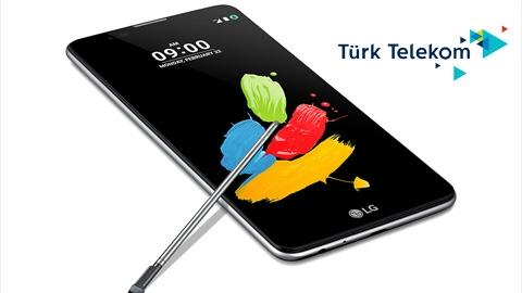 Türk Telekom LG Stylus 2 Cihaz Kampanyası