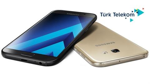 Türk Telekom Samsung Galaxy A3 2017 Cihaz Kampanyası