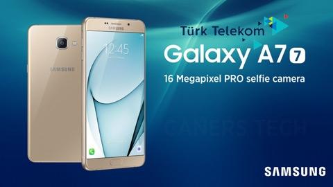 Türk Telekom  Samsung Galaxy A7 Cihaz Kampanyası (2017)