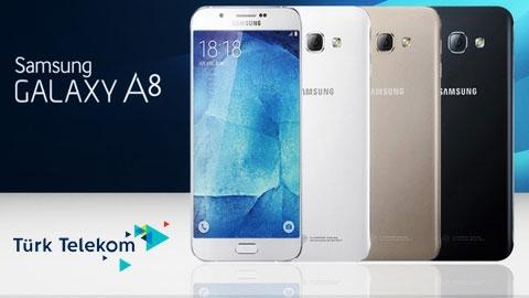 Türk Telekom Samsung Galaxy A8 Cihaz Kampanyası