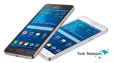 Türk Telekom Samsung Galaxy Grand Prime+ Cihaz Kampanyası