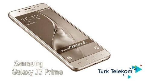 Türk Telekom Samsung Galaxy J5 Prime Cihaz Kampanyası