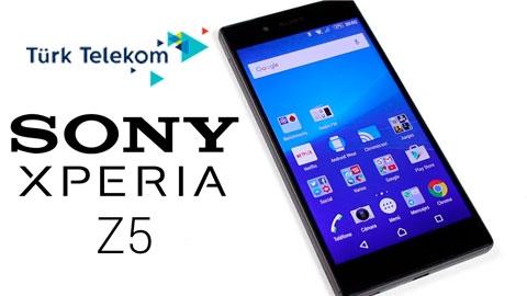 Türk Telekom Sony Xperia Z5 Cihaz Kampanyası