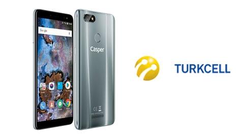 Turkcell Casper VIA M4 Akıllı Telefon Kampanyası