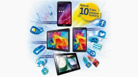 Turkcell Eğlence Paketli Tablet Kampanyası