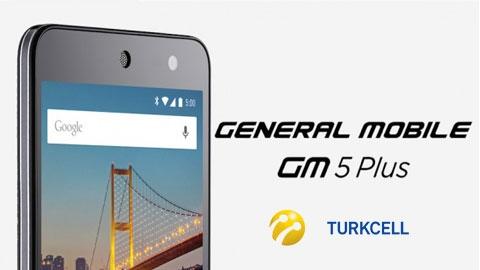 Turkcell General Mobile GM 5 Plus Cihaz Kampanyası