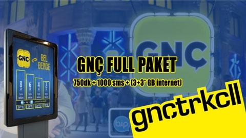 Turkcell GNÇ Full Paketi