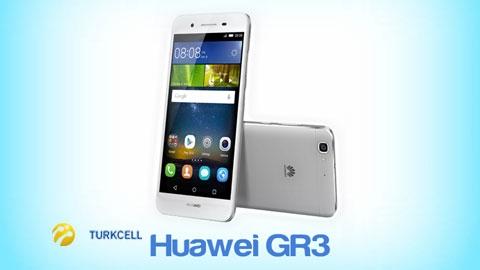 Turkcell Huawei GR3 Cihaz Kampanyası