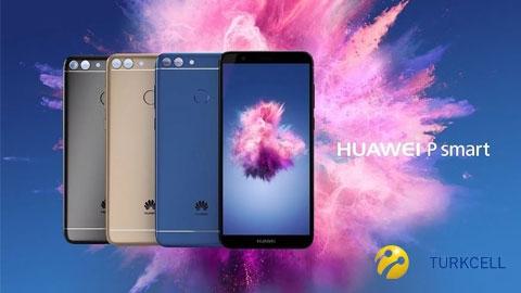 Turkcell Huawei P Smart Akıllı Telefon Kampanyası