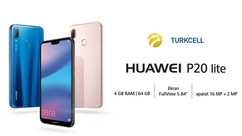 Turkcell Huawei P20 Lite Akıllı Telefon Kampanyası