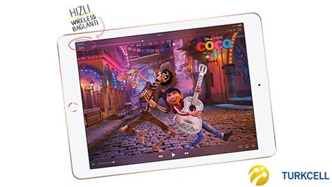 Turkcell iPad WiFi 32GB (2018) Tablet Kampanyası
