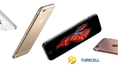 Turkcell iPhone 6S 128 GB Cihaz Kampanyası