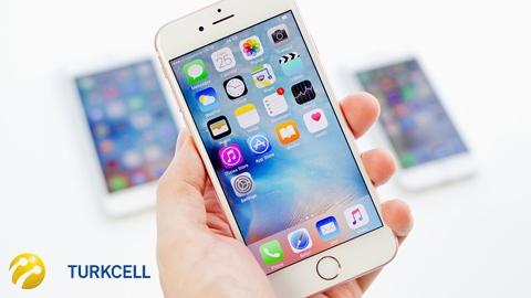 Turkcell iPhone 6s 16GB Cihaz Kampanyası