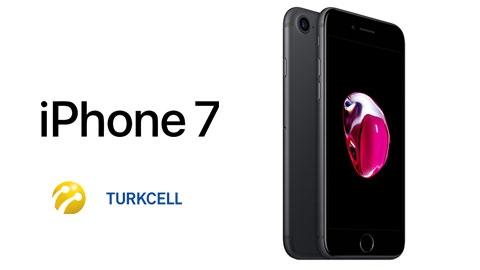 Turkcell iPhone 7 256 GB Cihaz Kampanyası