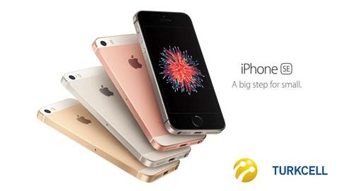 Turkcell iPhone SE 16 GB Kampanyası