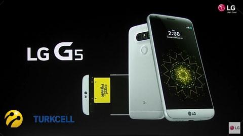 Turkcell LG G5 Cihaz Kampanyası