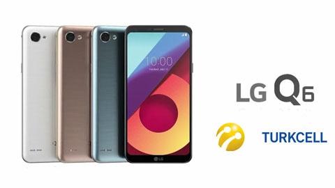 Turkcell LG Q6 Akıllı Telefon Kampanyası