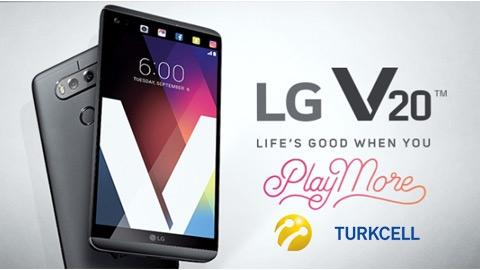 Turkcell LG V20 Cihaz Kampanyası