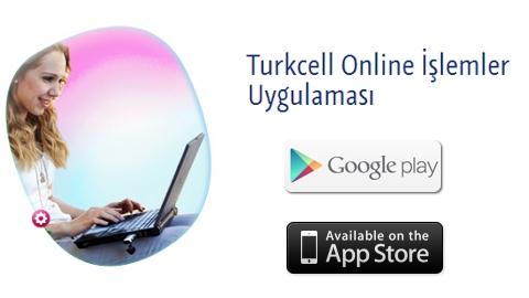 Turkcell Online İşlemler iOS ve Android uygulaması