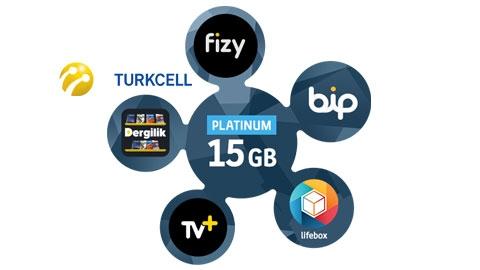 Turkcell Platinum 15 GB Kampanyası