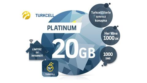 Turkcell Platinum 20 GB Kampanyası