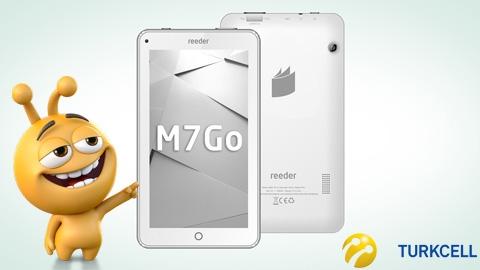 Turkcell Reeder M7 GO Tablet Kampanyası