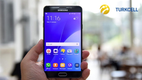 Turkcell Samsung Galaxy A7 2016 Cihaz Kampanyası