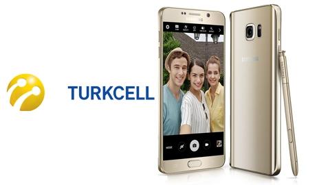 Turkcell Samsung Galaxy Note 5 Kampanyası