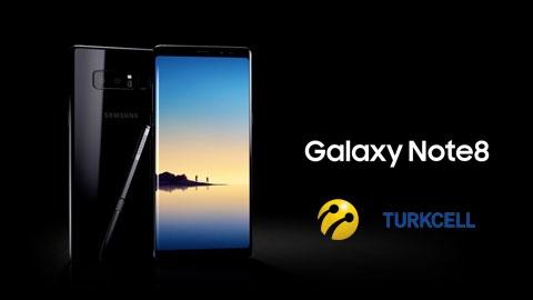 Turkcell Samsung Galaxy Note 8 Akıllı Telefon Kampanyası