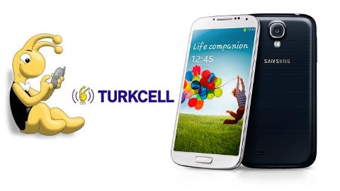 Turkcell Samsung Galaxy S4 kampanyası 32 GB modeli peşin fiyatı