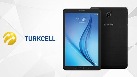 Turkcell Samsung Galaxy Tab E WiFi (T560) Tablet Kampanyası