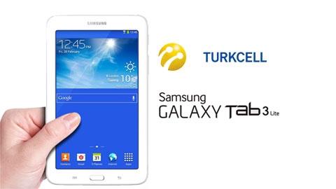 Turkcell Samsung Yeni Galaxy Tab 3 Lite T113 Tablet Kampanyası