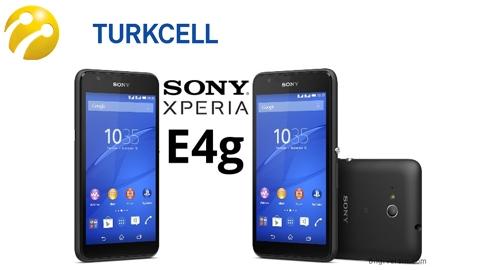 Turkcell Sony Xperia E4g Kampanyası