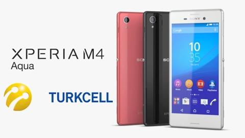 Turkcell Sony Xperia M4 Aqua Kampanyası