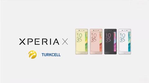 Turkcell Sony Xperia X Cihaz Kampanyası