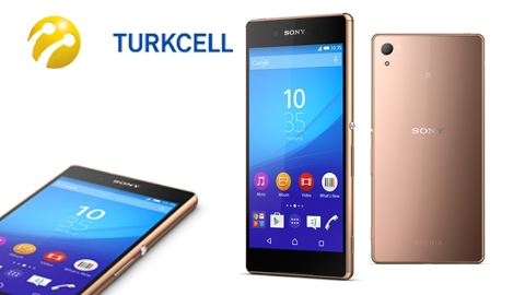Turkcell Sony Xperia Z3+ Cihaz Kampanyası
