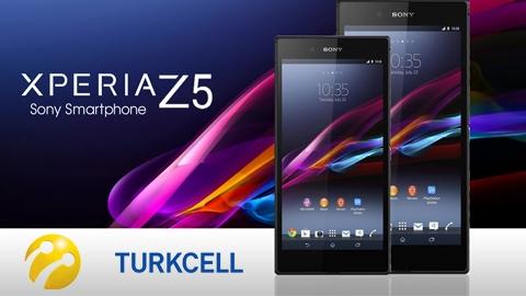 Turkcell Sony Xperia Z5 Cihaz Kampanyası