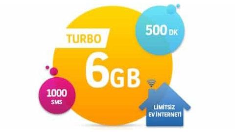 Turkcell Turbo 6 GB Kampanyası