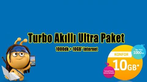 Turkcell Turbo Akıllı Ultra Paket Kampanyası